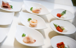 Finger food, cucina d'autore The White Rose, Wedding Planner Milano