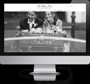 iMac sito sposi, The White Rose Wedding Planner Milano