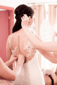 Dettagli sposa con wedding planner