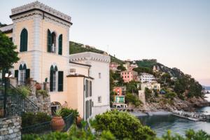 Castello per matrimoni a picco sul mare